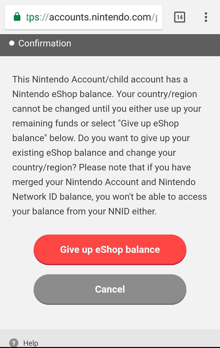 Nintendo Account has terrible restrictions on region change | NeoGAF